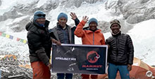 Mammuts Conquers mount everest