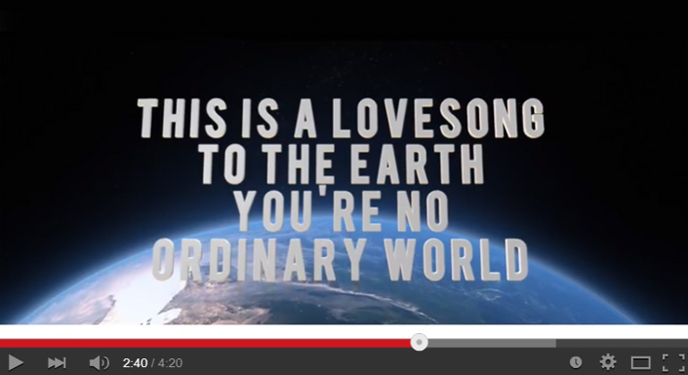 Lovesong to the earth youtube.de screenshot
